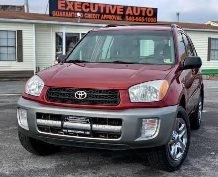 2003 Toyota RAV4 for sale at Executive Auto in Winchester VA
