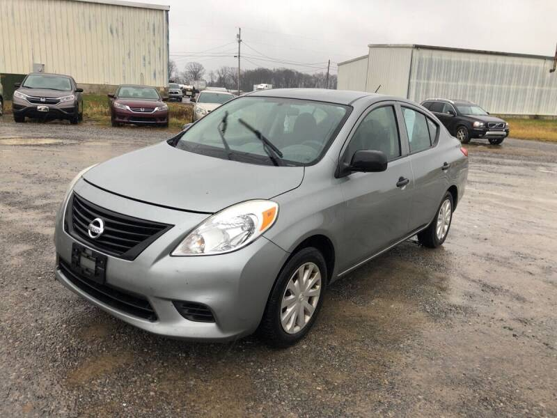 2012 Nissan Versa for sale at Delong Motors in Fredericksburg VA