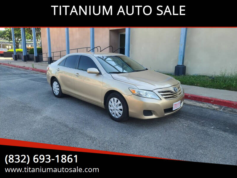 2011 Toyota Camry for sale at TITANIUM AUTO SALE in Houston TX