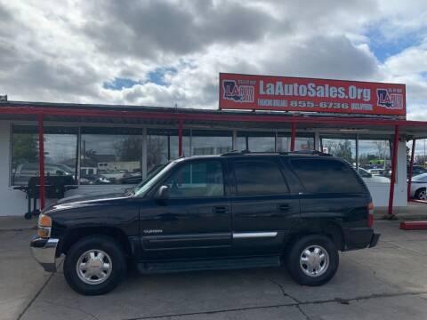 2002 GMC Yukon for sale at LA Auto Sales in Monroe LA