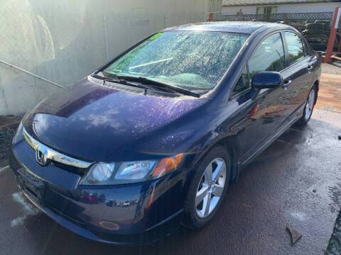 2008 Honda Civic for sale at MIDLAND MOTORS LLC in Tacoma WA