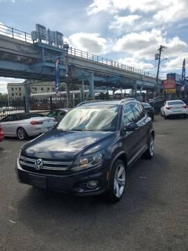 2016 Volkswagen Tiguan for sale at Key & V Auto Sales in Philadelphia PA