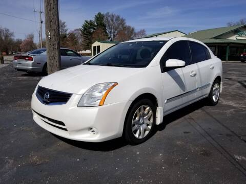 2011 Nissan Sentra for sale at Ridgeway's Auto Sales in West Frankfort IL