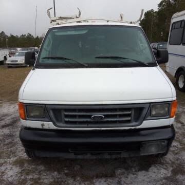 2007 Ford E-Series Cargo for sale at MOTOR VEHICLE MARKETING INC in Hollister FL