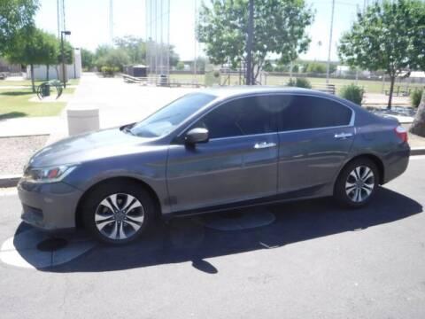 2013 Honda Accord for sale at J & E Auto Sales in Phoenix AZ