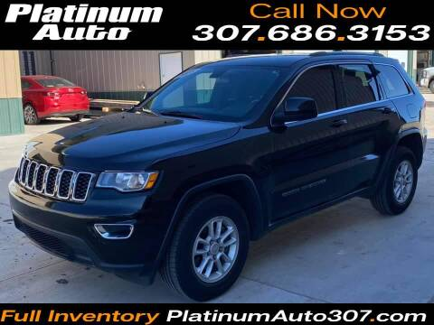 2018 Jeep Grand Cherokee for sale at Platinum Auto in Gillette WY