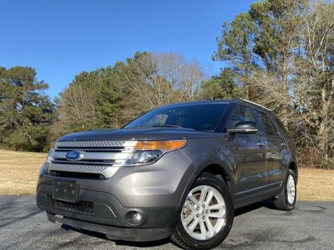 2012 Ford Explorer for sale at Global Pre-Owned in Fayetteville GA