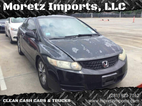 2011 Honda Civic for sale at Moretz Imports, LLC in Spring TX