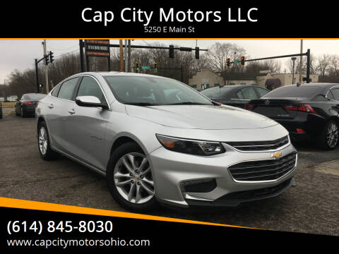 2018 Chevrolet Malibu for sale at Cap City Motors LLC in Columbus OH