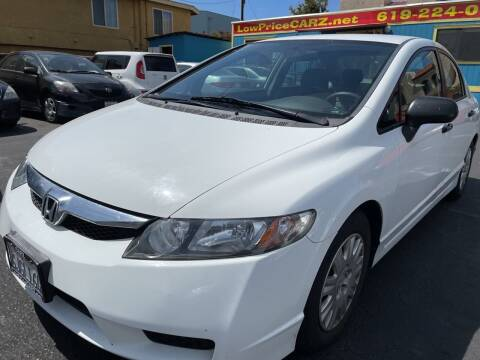 2009 Honda Civic for sale at CARZ in San Diego CA