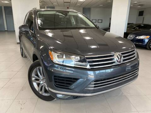 2016 Volkswagen Touareg for sale at Auto Mall of Springfield in Springfield IL