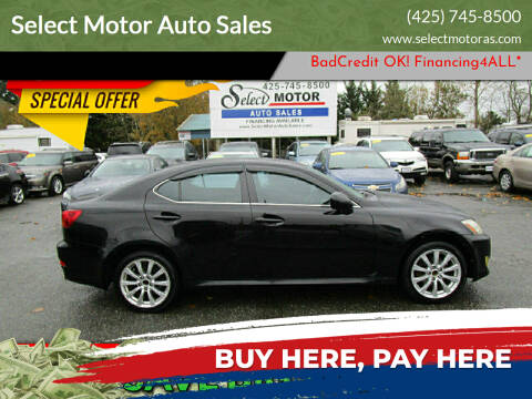 2007 Lexus IS 250 for sale at Select Motor Auto Sales in Lynnwood WA