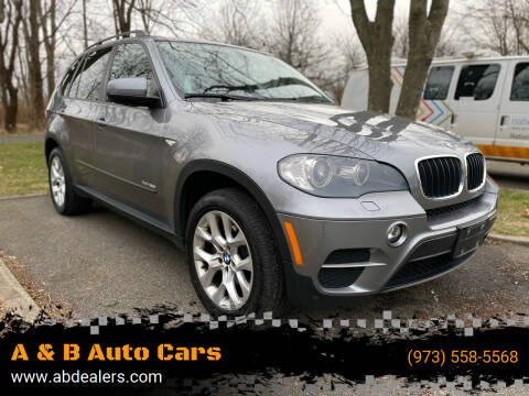 2011 BMW X5 for sale at A & B Auto Cars in Newark NJ