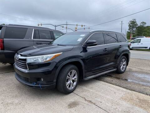 2015 Toyota Highlander for sale at Direct Auto in D'Iberville MS