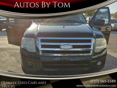 2008 Ford Expedition EL for sale at Autos by Tom in Largo FL