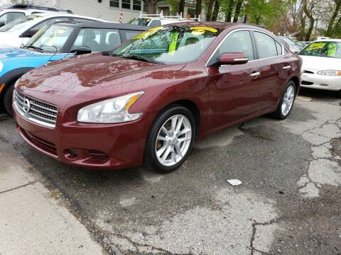 2009 Nissan Maxima for sale at Devaney Auto Sales & Service in East Providence RI