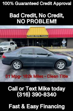 2006 Honda Accord for sale at Affordable Mobility Solutions, LLC - Standard Vehicles in Wichita KS
