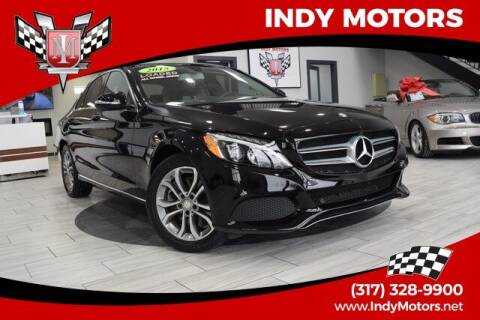 2015 Mercedes-Benz C-Class for sale at Indy Motors Inc in Indianapolis IN