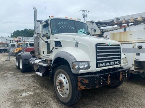 2013 Mack Granite for sale at Truck and Van Outlet in Miami FL
