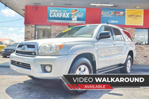 2007 Toyota 4Runner for sale at ALWAYSSOLD123 INC in North Miami Beach FL