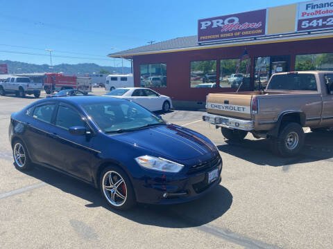 2013 Dodge Dart for sale at Pro Motors in Roseburg OR