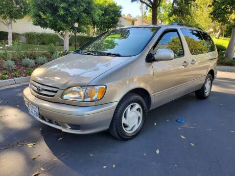 2003 Toyota Sienna for sale at E MOTORCARS in Fullerton CA