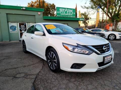 2018 Nissan Altima for sale at Stark Auto Sales in Modesto CA