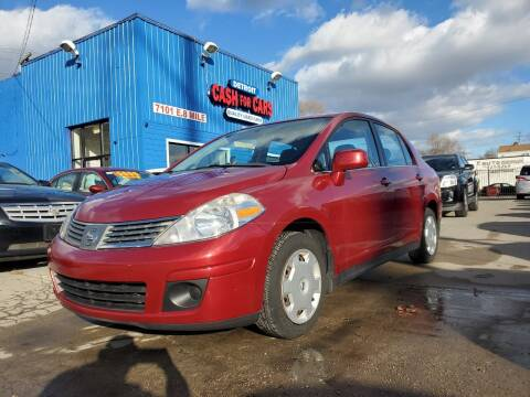 2008 Nissan Versa for sale at Detroit Cash for Cars in Warren MI