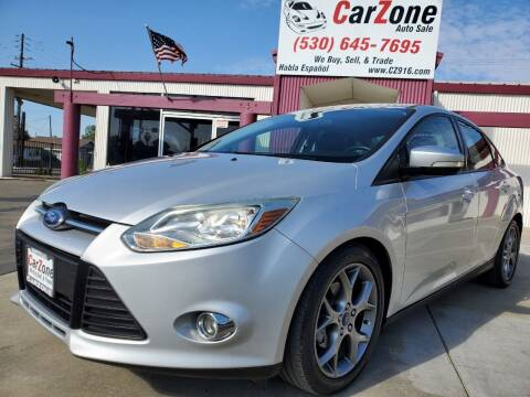 2014 Ford Focus for sale at CarZone in Marysville CA