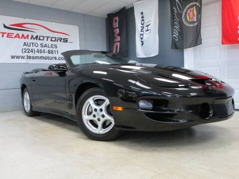 2002 Pontiac Firebird for sale at TEAM MOTORS LLC in East Dundee IL