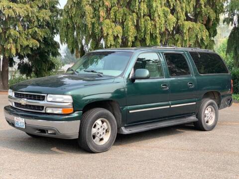 2001 Chevrolet Suburban for sale at Q Motors in Lakewood WA