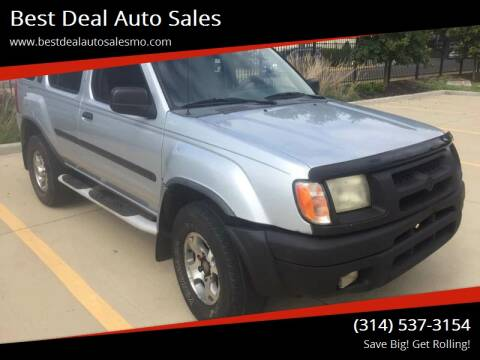2001 Nissan Xterra for sale at Best Deal Auto Sales in Saint Charles MO