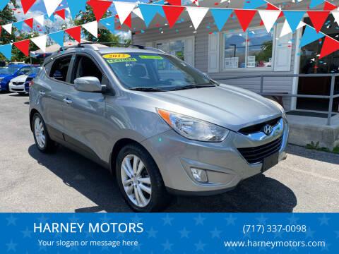 2012 Hyundai Tucson for sale at HARNEY MOTORS in Gettysburg PA
