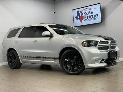 2011 Dodge Durango for sale at Texas Prime Motors in Houston TX