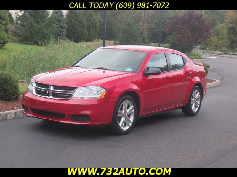 2012 Dodge Avenger for sale at Absolute Auto Solutions in Hamilton NJ