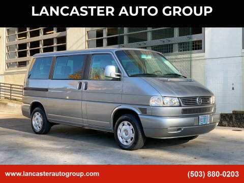 2000 Volkswagen EuroVan for sale at LANCASTER AUTO GROUP in Portland OR