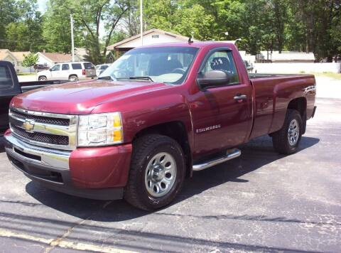 2009 Chevrolet Silverado 1500 for sale at LAKESIDE MOTORS LLC in Houghton Lake MI
