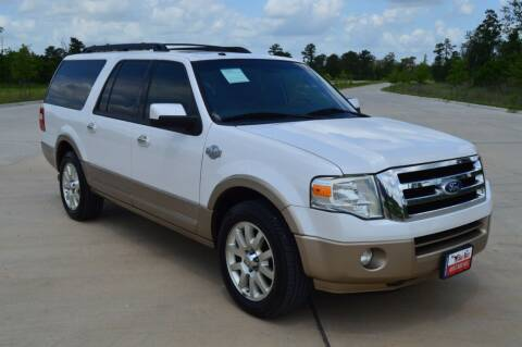 2011 Ford Expedition EL for sale at Fincher's Texas Best Auto & Truck Sales in Tomball TX