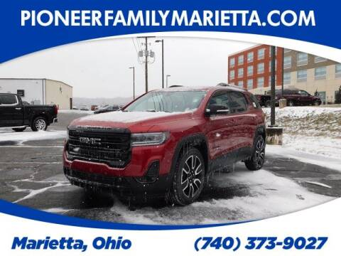 2021 GMC Acadia for sale at Pioneer Family auto in Marietta OH