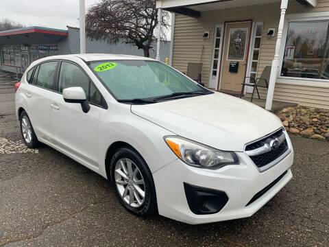 2013 Subaru Impreza for sale at G & G Auto Sales in Steubenville OH