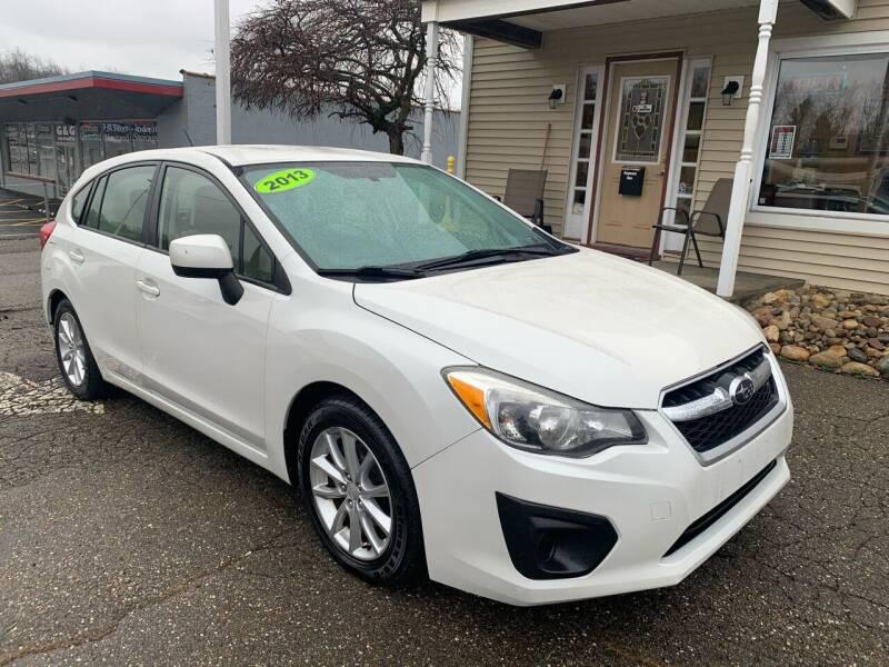 2013 Subaru Impreza for sale at G & G Auto Sales in Steubenville OH