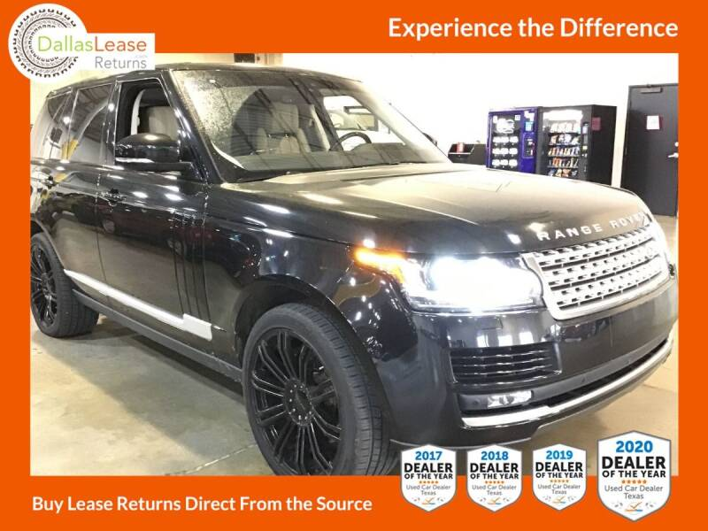 2017 Land Rover Range Rover for sale at Dallas Auto Finance in Dallas TX