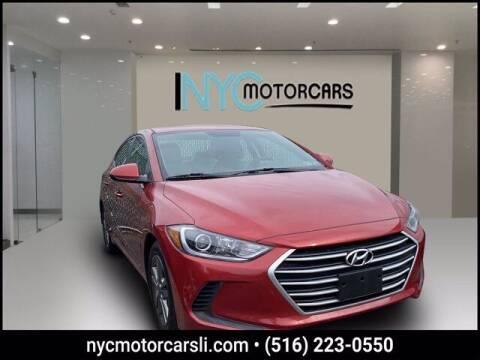 2017 Hyundai Elantra for sale at NYC Motorcars in Freeport NY