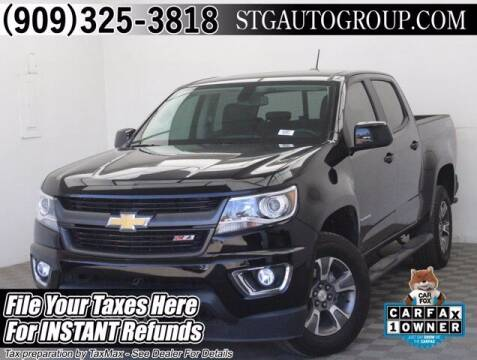 2020 Chevrolet Colorado for sale at STG Auto Group in Montclair CA