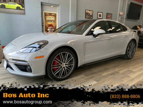 2018 Porsche Panamera for sale at Bos Auto Inc in Quincy MA