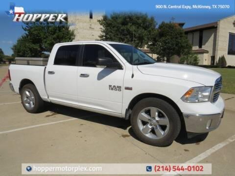 2016 RAM Ram Pickup 1500 for sale at HOPPER MOTORPLEX in Mckinney TX