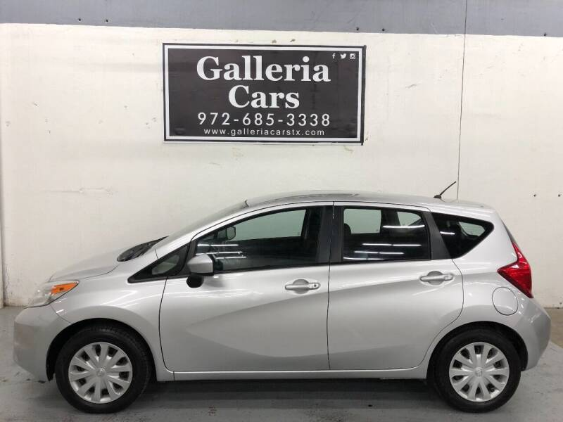 2015 Nissan Versa Note for sale at Galleria Cars in Dallas TX