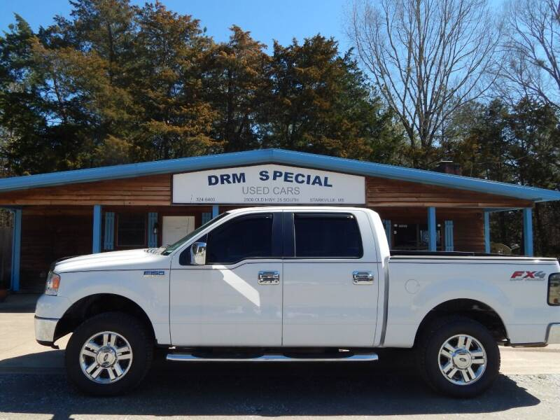 2007 Ford F-150 for sale at DRM Special Used Cars in Starkville MS