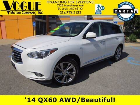 2014 Infiniti QX60 for sale at Vogue Motor Company Inc in Saint Louis MO