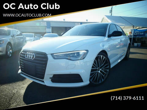 2018 Audi A6 for sale at OC Auto Club in Midway City CA